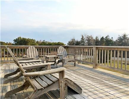 Katama - Edgartown Martha's Vineyard vacation rental - View magnificent sunsets as you lounge on our elegant upper deck