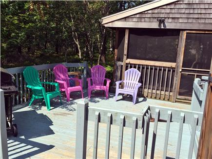 Edgartown Martha's Vineyard vacation rental - Outside Deck with grill
