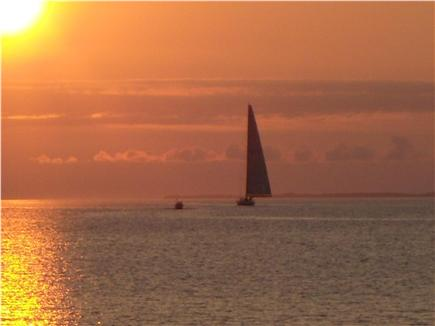 Aquinnah Martha's Vineyard vacation rental - Sunset sail