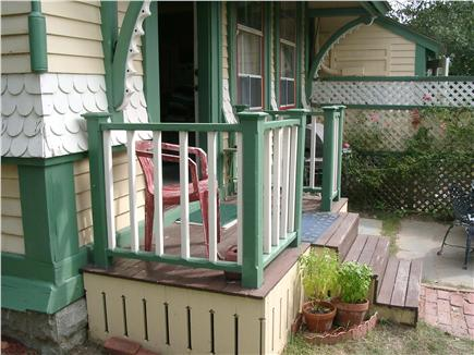 Oak Bluffs Martha's Vineyard vacation rental - Charming porch leading to patio
