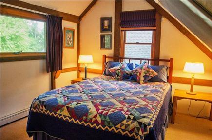 Vineyard Haven Martha's Vineyard vacation rental - Upstairs dormer bedroom with queen bed