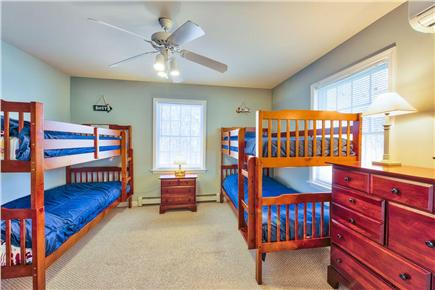 Oak Bluffs Martha's Vineyard vacation rental - Rear bunk bedroom with two bunk beds