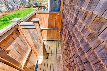 Oak Bluffs Martha's Vineyard vacation rental - Outdoor Shower