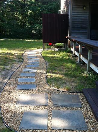 Katama - Edgartown, Edgartown Martha's Vineyard vacation rental - Path to outdoor shower