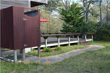 Katama - Edgartown, Edgartown Martha's Vineyard vacation rental - Outdoor shower