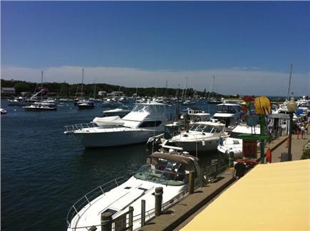 Oak Bluffs, East Chop Martha's Vineyard vacation rental - Oak Bluffs Harbor five minute walk from house