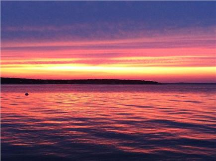 Oak Bluffs, East Chop Martha's Vineyard vacation rental - Sunset two minute walk from house