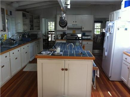 Oak Bluffs, East Chop Martha's Vineyard vacation rental - Kitchen-- it is actually very light and wide.