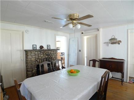 Oak Bluffs Martha's Vineyard vacation rental - Casual Dining area with Fireplace