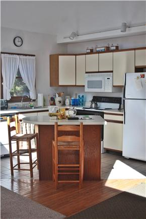 Oak Bluffs Lagoon Pond area Martha's Vineyard vacation rental - Fully equipped sunny cheerful Kitchen
