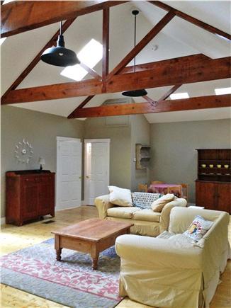 West Tisbury Martha's Vineyard vacation rental - Living area carriage house