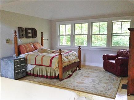 West Tisbury Martha's Vineyard vacation rental - Guest house sleeping area.