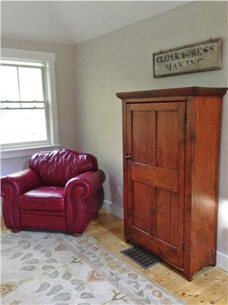 West Tisbury Martha's Vineyard vacation rental - Bedroom alcove carriage house