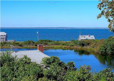 Oak Bluffs, East Chop Martha's Vineyard vacation rental - Enjoy spectacular water views and sunsets from the back deck.