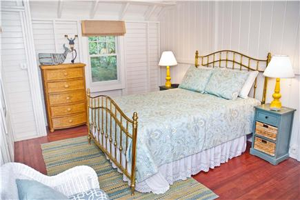 Oak Bluffs, East Chop Martha's Vineyard vacation rental - 2nd Floor Queen Bedroom with sitting area + room for a crib
