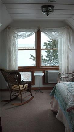 Oak Bluffs Martha's Vineyard vacation rental - Master bedroom has water view and two skylights