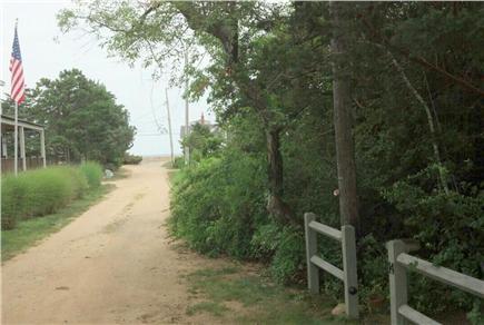 Oak Bluffs Martha's Vineyard vacation rental - Stroll down our sandy lane to the sea