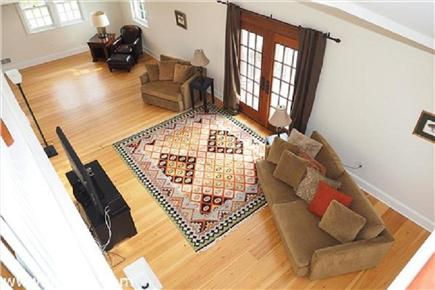 Katama - Edgartown, Edgartown Martha's Vineyard vacation rental - Spacious living room