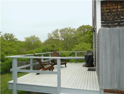 Chilmark Martha's Vineyard vacation rental - Deck and outdoor shower to add to your relaxation