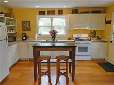Chilmark Martha's Vineyard vacation rental - Spacious kitchen, overlooking gardens