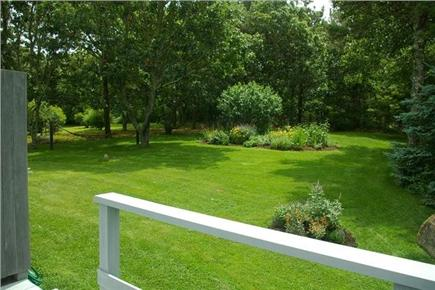 Chilmark Martha's Vineyard vacation rental - Beautiful perennial gardens from deck