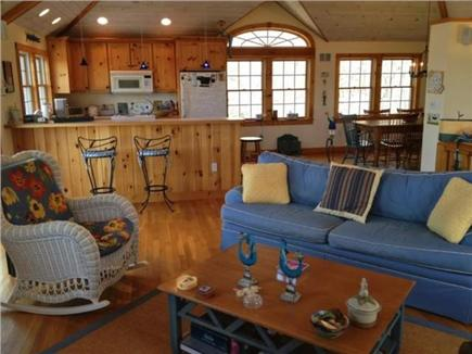 West Tisbury Martha's Vineyard vacation rental - Open plan living space
