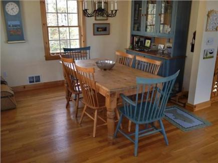 West Tisbury Martha's Vineyard vacation rental - Dining room