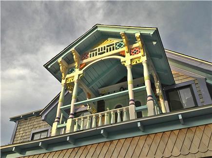 Oak Bluffs Martha's Vineyard vacation rental - Second Floor Gingerbread Porch
