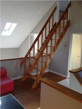 West Tisbury Martha's Vineyard vacation rental - Stairs leading to loft