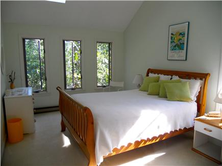 West Tisbury Martha's Vineyard vacation rental - Master BR has a vaulted ceiling & cooling fan