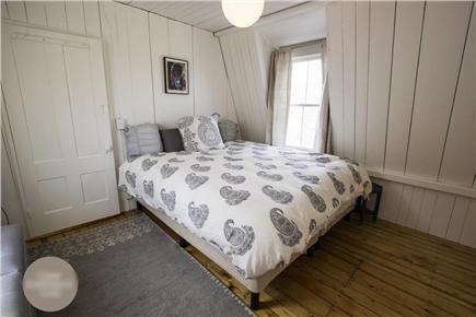 Oak Bluffs Martha's Vineyard vacation rental - Back Bedroom w/ Ocean View (King Bed)