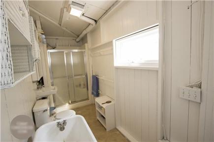 Oak Bluffs Martha's Vineyard vacation rental - Indoor Shower and Tub; Outdoor Shower Not Shown