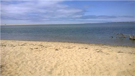 Chappaquiddick, Edgartown Martha's Vineyard vacation rental - Quiet bay beach at the end of Wasque Avenue
