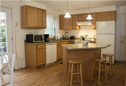 Oak Bluffs Martha's Vineyard vacation rental - The fully updated kitchen comes with a huge island.