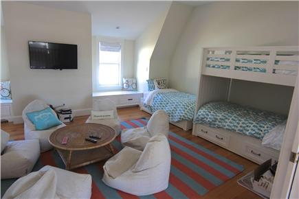 Katama - Edgartown,  Edgartown Martha's Vineyard vacation rental - Bunk room/kids lounge