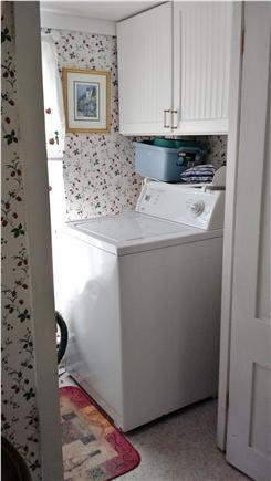 Oak Bluffs Martha's Vineyard vacation rental - Laundry room (washing machine, cleaning tools) no indoor dryer