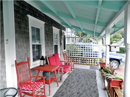 Oak Bluffs Martha's Vineyard vacation rental - The Front Porch is the place for your morning coffee!