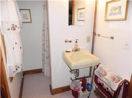 Oak Bluffs Martha's Vineyard vacation rental - The 1st floor bathroom (shower, sink and toilet), has easy access