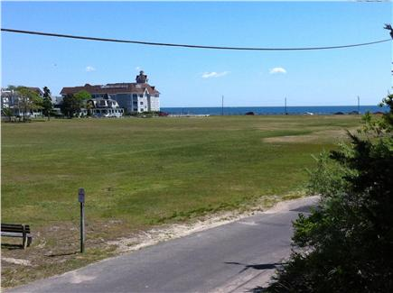 Oak Bluffs, Waban Park Martha's Vineyard vacation rental - Looking across Waban Park to Nantucket Sound, from the balcony