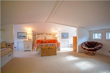 Oak Bluffs Martha's Vineyard vacation rental - A/C extra large bedroom on 2nd floor plenty of space to relax