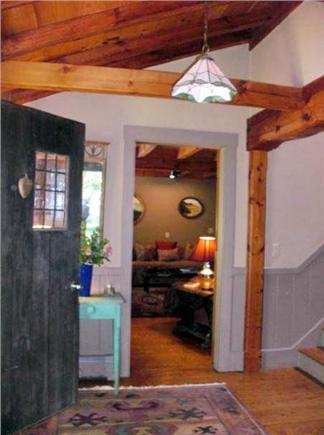 Chilmark Martha's Vineyard vacation rental - Foyer of French Country Styled Farmhouse with hot tub