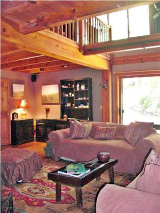 Chilmark Martha's Vineyard vacation rental - The Studio Living Room also has a Studio Easel