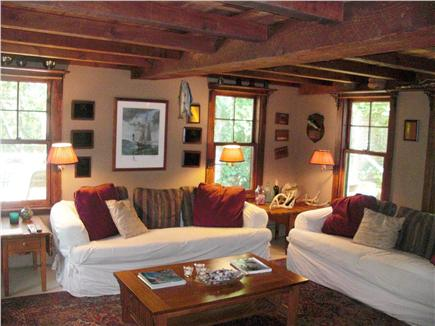 Chilmark Martha's Vineyard vacation rental - The Trophy Room with TV