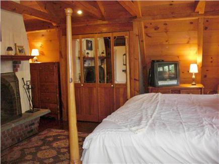 Chilmark Martha's Vineyard vacation rental - Fireplace of the Master Bedroom
