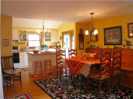 Edgartown Martha's Vineyard vacation rental - Kitchen Dining rooms, great entertaing space opens to living room