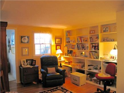 Edgartown Martha's Vineyard vacation rental - Library can be closed off to kitchen, dining and living rooms