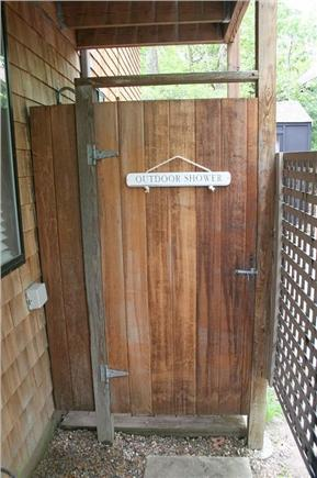Vineyard Haven, Tisbury Martha's Vineyard vacation rental - Outside Shower