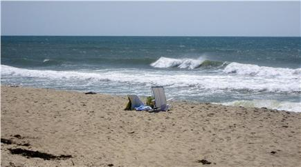 Chilmark Martha's Vineyard vacation rental - Your spot on the private ocean beach!