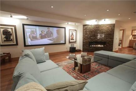 Oak Bluffs Martha's Vineyard vacation rental - Media / Game room