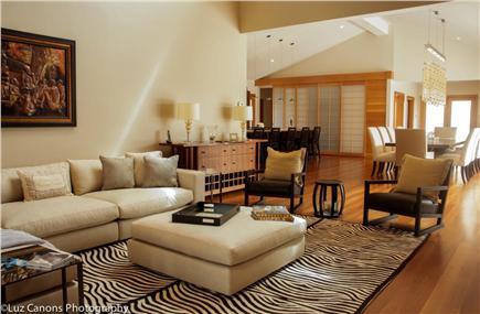 Oak Bluffs Martha's Vineyard vacation rental - Living Room and Dining Room